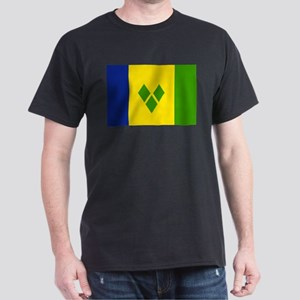 Saint Vincent and Grenadines Dark T-Shirt